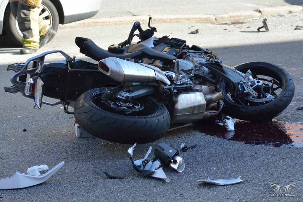 Trafikolycka på Bromsplan