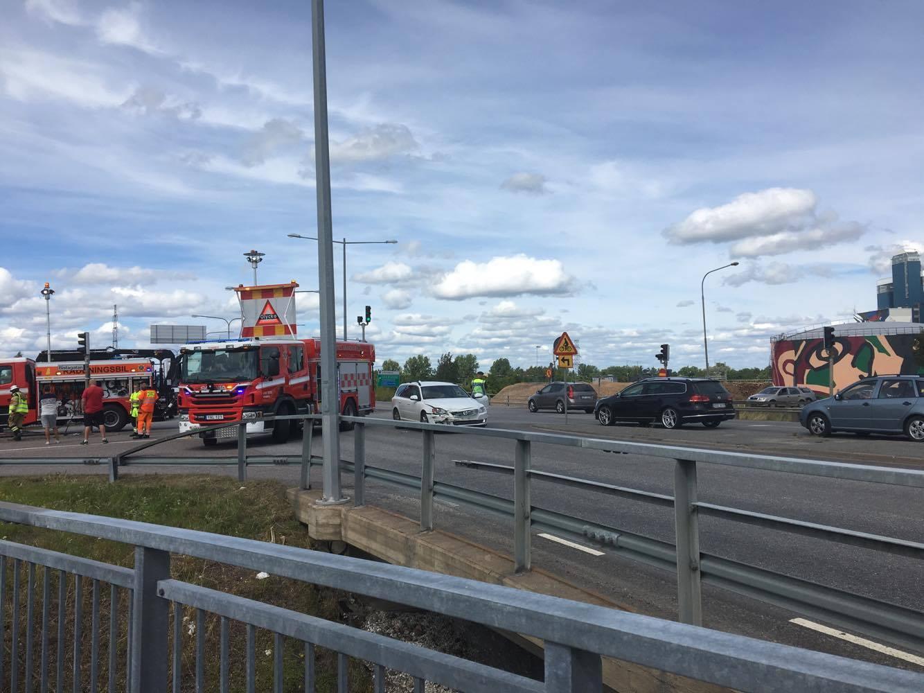 Trafikolycka Västhagagatan