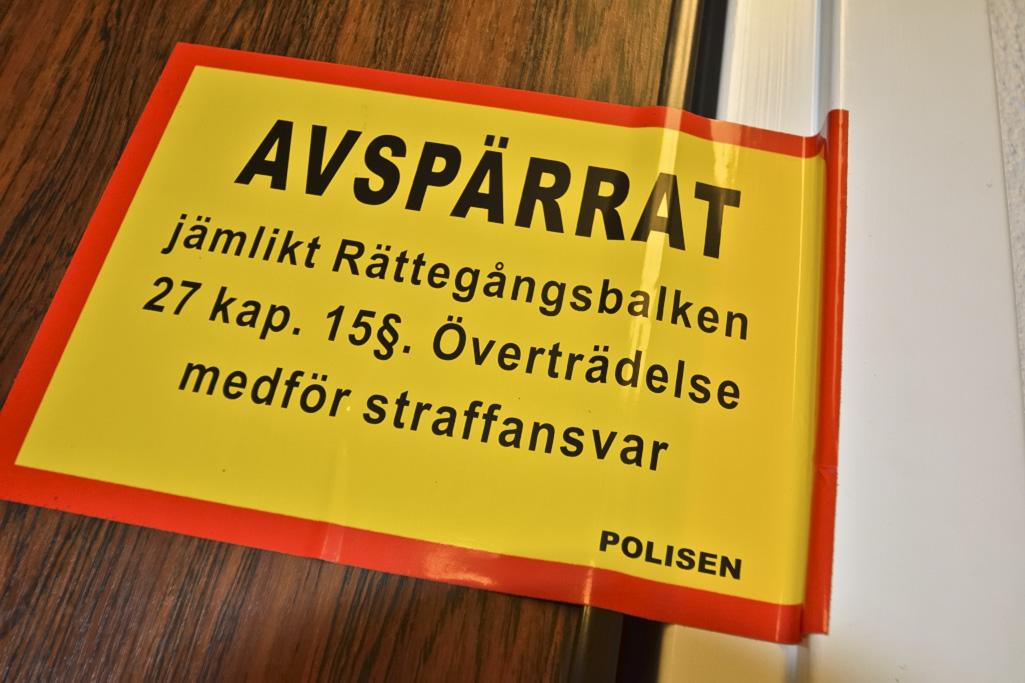 Man fick hand avhuggen i Varberga