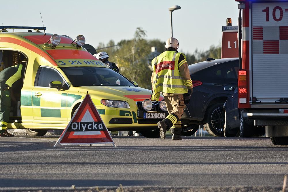 Trafikolycka i Örebro