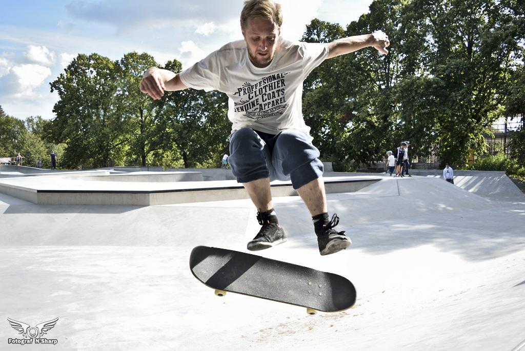 Bilder från skateparken i Örebro