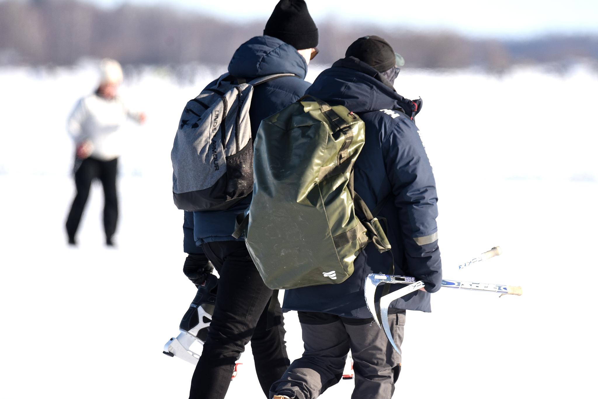 Vinterdag i Rynningeviken